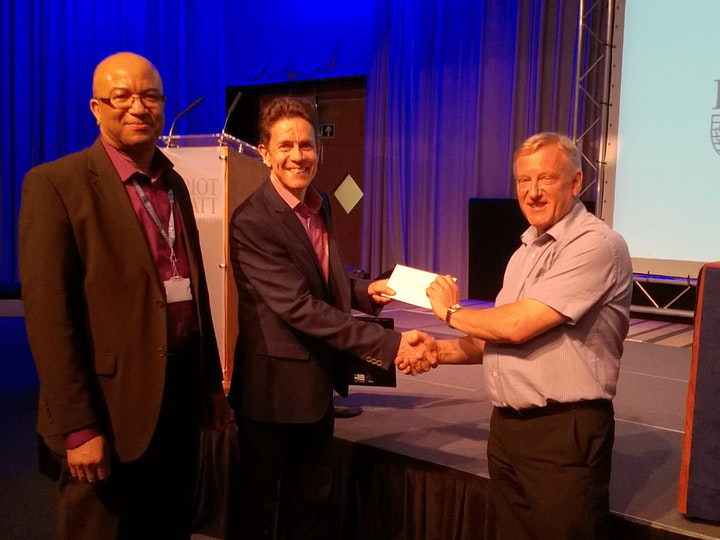 Chris Brooks finance award
