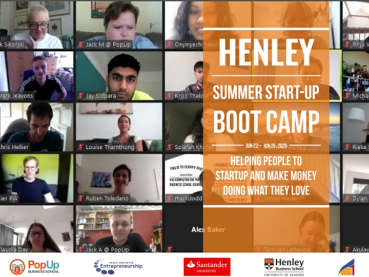 Henley Summer Start Up Boot Camp 2020 Report