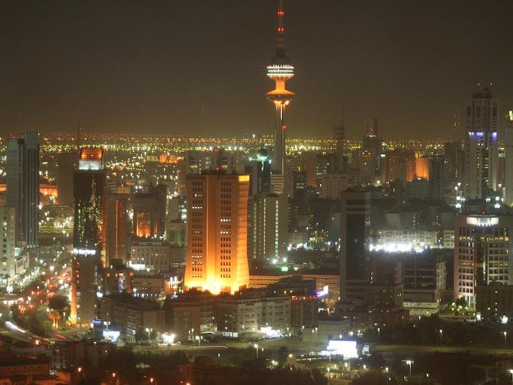 Kuwait city at night mtime20180202150019