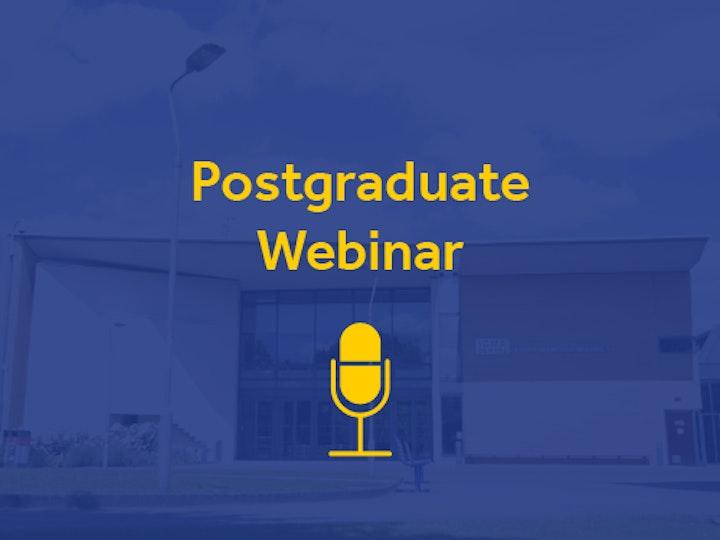 Postgraduate webinar 3