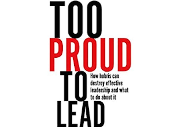 Too Proud to Lead Webinar