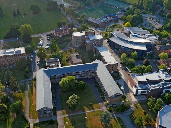 WK aerial view