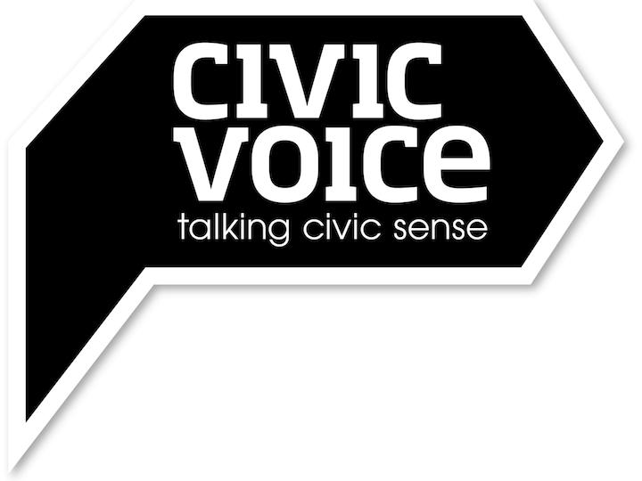 Civic voice logo
