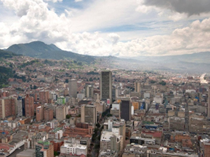 Real estate planning staff published new research on latin america 3 3 Downtown Bogota Colombia