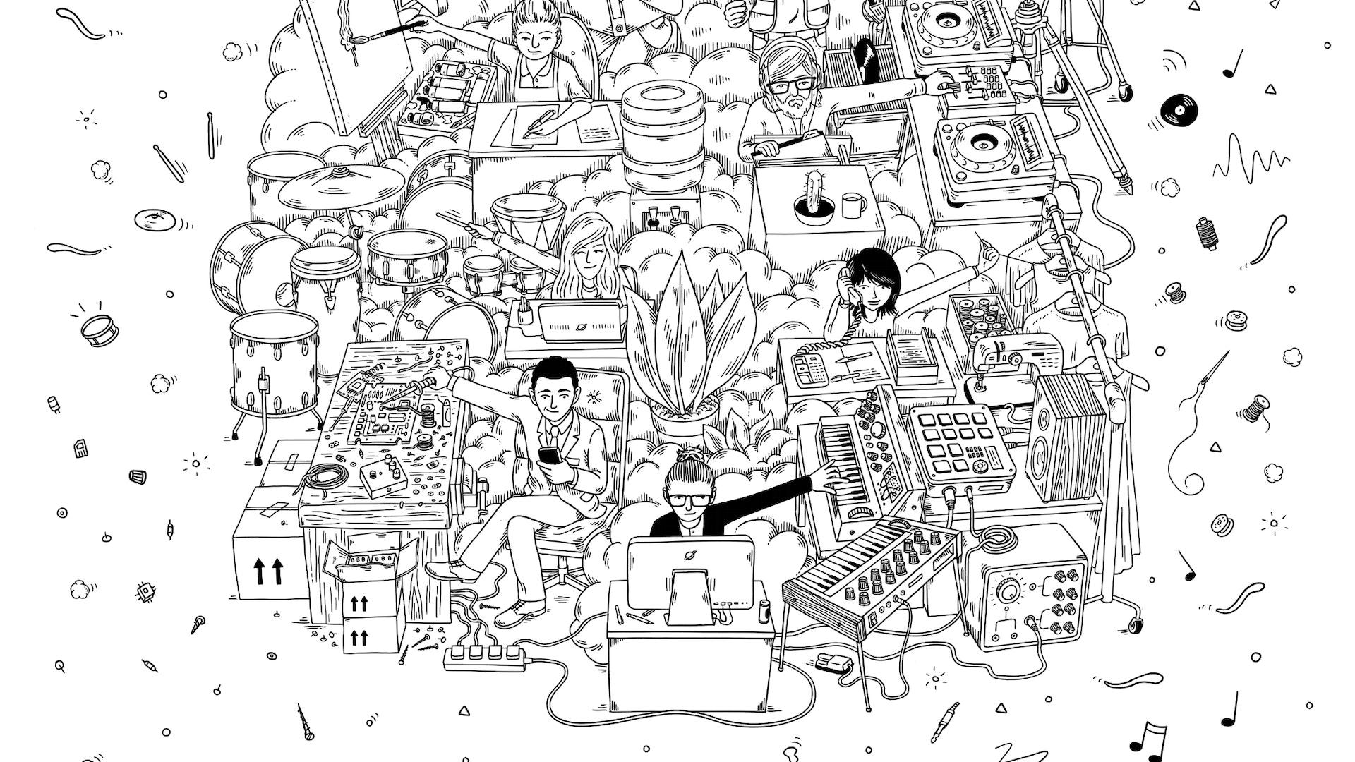 Henley Journalists Regatta illustration
